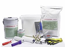 Böck Traunsteiner Silo Starter-Paket Futtertischbeschichtung zur Sanierung von Futtertischen