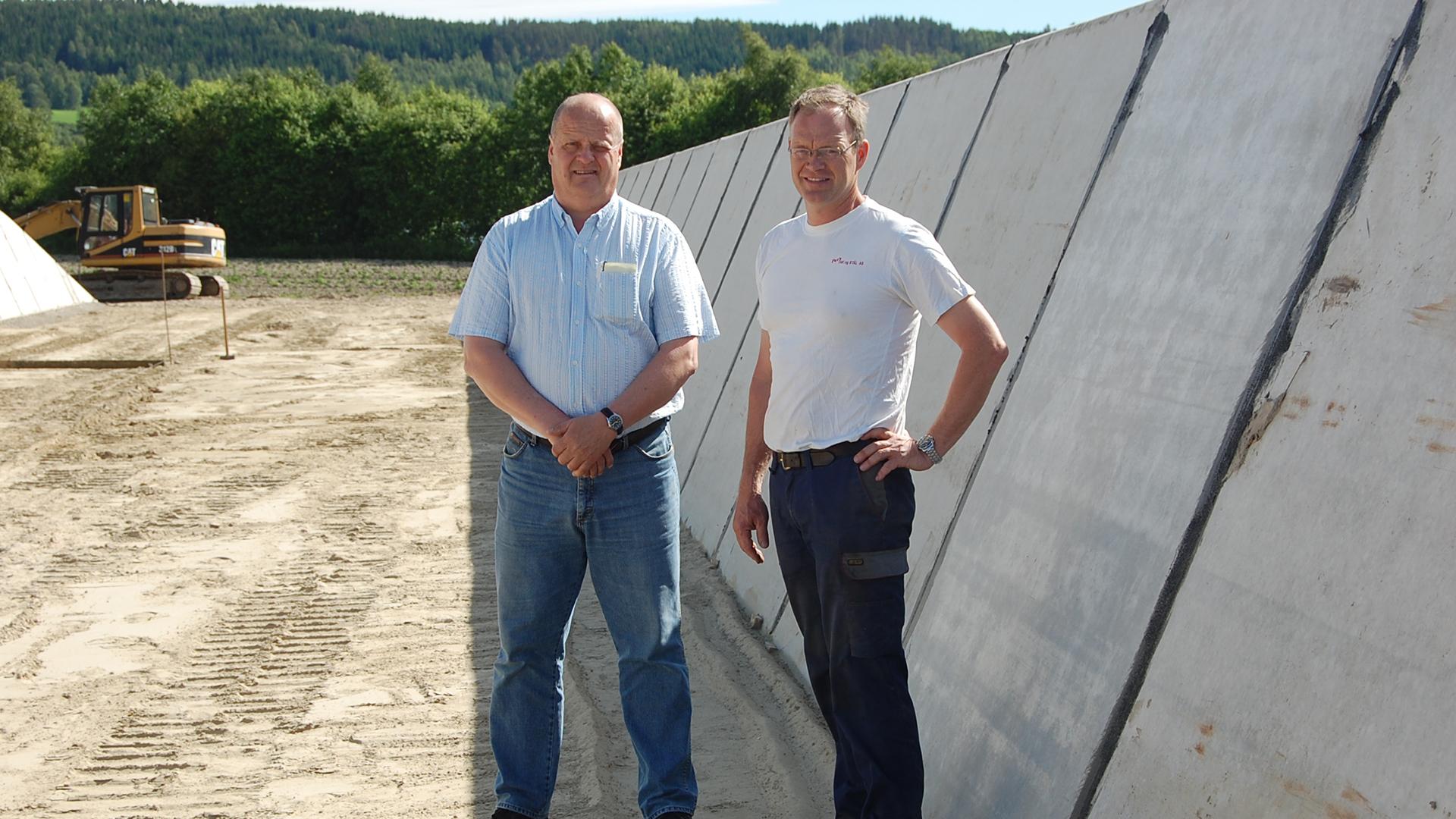 Böck Traunsteiner Silo Referenz Norwegen Erlend Rhonebaek Brandval Bullenmastbetrieb